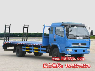 CLW5110TPB3型平板运输车