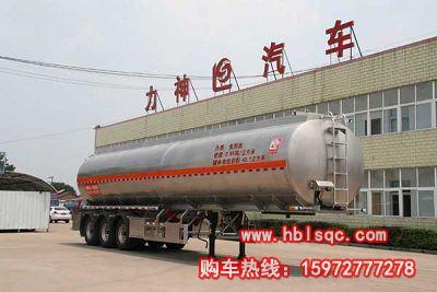 龙8国际娱乐电脑版牌SLS9405GSY型铝合金食用油运输半挂车