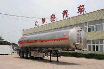 42.1立方米龙8国际娱乐电脑版牌SLS9405GYY型铝合金运油半挂车
