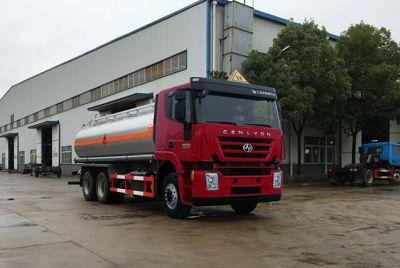 18.9立方米龙8国际娱乐电脑版牌SLS5250GRYH4型易燃液体罐式运输车