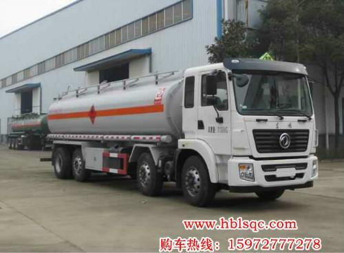 24.5方东风龙8国际娱乐电脑版牌SLS5312GRYE5S型易燃液体罐式运输车