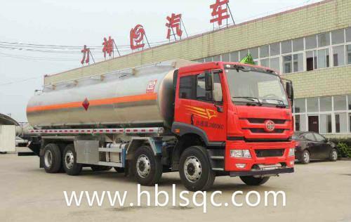 30立方解放龙8国际娱乐电脑版牌SLS5310GYYC5Q铝合金运油车