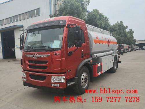 随州龙8国际真人解放龙V单桥10吨加油车